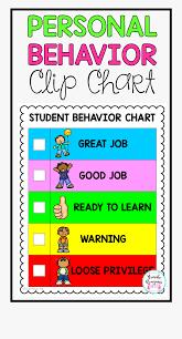 Behaviour Clip Chart Transparent Behavior Chart Clipart Personal Behaviour Clip