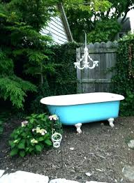 outdoor tub ideas bathtubs 5 feet long best outdoor tub ideas on outdoor bathtub outdoor baths