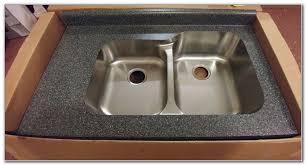 karran undermount sink laminate countertop
