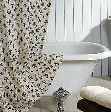 cream and black shower curtain. elysee ruffled shower curtain black cream fleur de lis french country cotton vhc | what\u0027s it worth and a