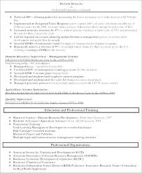 Human Resources Resume Examples Resume Samples For Supervisor
