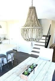 wooden beaded chandelier wood bead chandelier empire wood beaded chandelier modern farmhouse kitchen satori design for