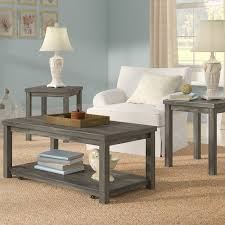 Rosecliff Heights Nashua 3 Piece Coffee Table Set & Reviews