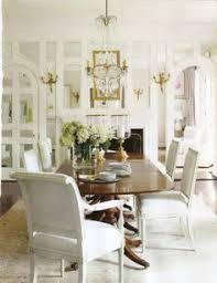 mirrored and crystal dining room french louis side chairs sue ellen gregory veranda