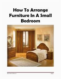 Elegant How to Arrange Bedroom Furniture Idea Best Bedroom Design