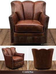 high grade leather accent chair