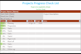 to do lists excel project to do list template with completion percentage dotxes