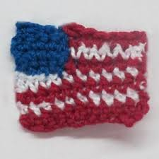 American Flag Crochet Pattern Interesting Crochet Spot Blog Archive Crochet Pattern American Flag