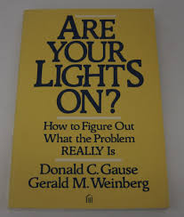 Are Your Lights On Book Buy Are Your Lights On How To Figure Out What The Problem