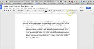 How To Create Block Quotes In Google Documents