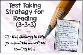Test Taking Tips For Reading Teaching With Jennifer Findley