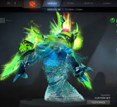both morphling immortals equipped dota2