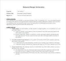 Employee Job Description Template Senior Brand Manager Job
