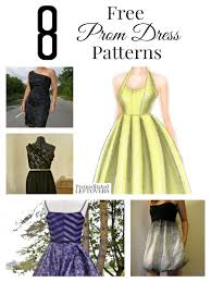 Dress Patterns Free Adorable 48 Free Prom Dress Patterns