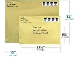 Manila Envelope Size Chart Postage For Manila Envelope Ebena Co