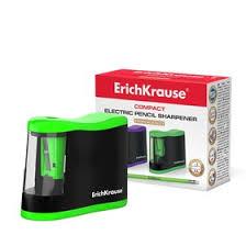 <b>Точилка электрическая Erich Krause Compact</b>, с контейнером ...