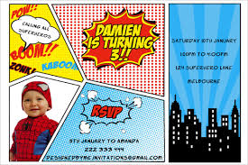 superheroes party invites 26 superhero birthday invitation templates free sample example