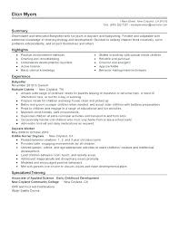 Child Care Resume Template Awesome Child Care Resume Noxdefense