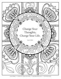 Small Picture Friday Joy Infusion Coloring pages and podcast interview on