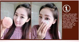30g rose air cushion cc cream concealer makeup matte finish white moisturizing nutritious foundation makeup face