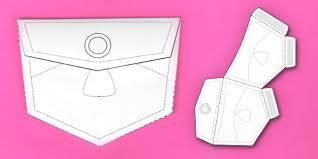 Pocket Template Interactive Jean Pocket Visual Aid Template Jeanpocket