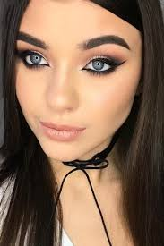 y makeup ideas with cat eye eyeline style picture 6