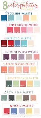 Summer Color Palettes From Jennifer Matthews Design Color