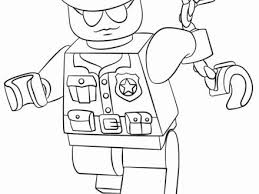 Lego Space Police Coloring Pages New Police Ficer Coloring Pages