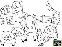 Farm Animal Cut Out Templates