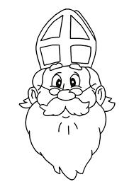 Kleurplaat Sinterklaas En Zwarte Piet 2843