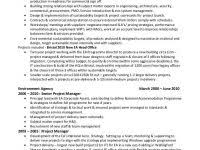 Construction Manager Resume Sample From Professional Resume Writing