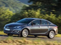 OPEL Astra J Sedan Facelift 1.6 MT (115 HP) car technical data ...
