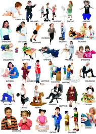 Action Verbs Action Words Learning English Grammar Pdf