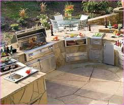 outdoor grilling station ideas kitchen cooking intended for remodel 3