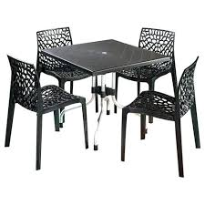 plastic dining table and chairs black d x w x h cm plastic dining table set plastic dining table chair