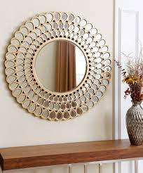 Home Decorating Mirrors Astonishing Round Wall Mirrors To Glam Up Your Home Dccor Wall