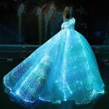 Wedding Dress With Lights Glamerweave Light Up Dresses Quince Dresses Dresses