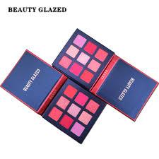 <b>BEAUTY GLAZED</b> 9 Colors <b>Shimmer Matte</b> Eyeshadow Makeup ...
