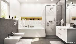 modern bathroom white. Fine Bathroom Modern Bathroom White With Gray To Bathroom White O