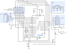 gammon forum electronics microprocessors alarm clock from this is the 7 segment display diagram from their spec