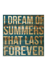 image of marmont hill inc i dream of summers ii natural pine wood wall decor