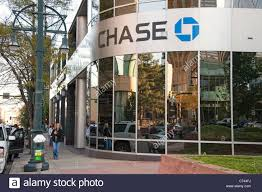 chase bank building downtown denver colorado stock image
