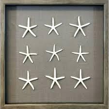 wall arts shadow box wall art starfish 3 row shadowbox pier 1 save this item