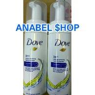 cleanser dove 3 in 1 make up removing foaming cleanser