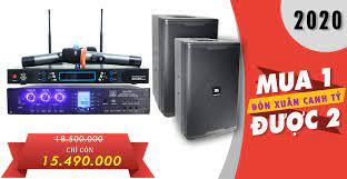 Dàn thiết bị âm thanh karaoke gia đình cấu hình 1 - Lạc Việt Audio