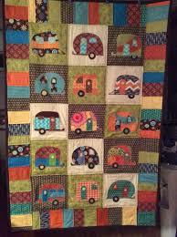 26 best images about row quilt on Pinterest | Batik quilts, Quilt ... & My Camping trailer / Camper / Travel trailer Quilt Adamdwight.com