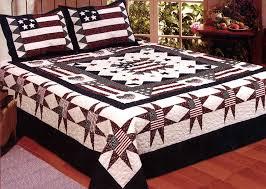 Great American Quilt | Patriotic Bedding | American Themed Quilt ... & Great American Quilt Set - Full/Queen Size - includes 2 Standard Pillow  Shams Adamdwight.com