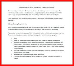 Newspaper Obituary Template Newspaper Obituary Template Format Sample For Mother Threestrands Co