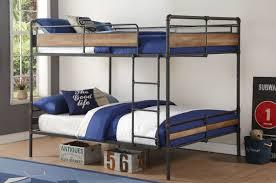 acme furniture brantley ii queen over queen bunk bed  reviews