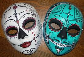 How To Decorate Masks Paper Mache Mask Making 2